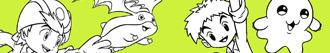 Omalovánky Digimon