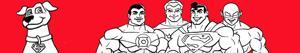 Omalovánky Super Friends