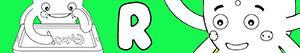 Omalovánky Jména pro Chlapce na písmeno R