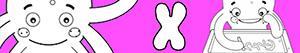 Omalovánky Jména pro Dívky na písmeno X