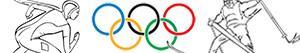 Omalovánky Zimní olympijské hry